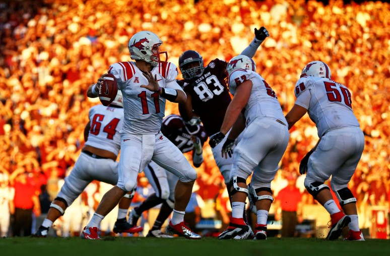 NCAA Football: Southern Methodist at Texas A&M